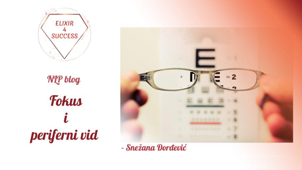 Fokus – Periferni vid i obrazac za popunjavanje štampanom ćirilicom
